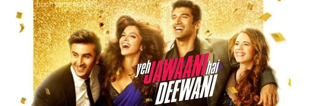 Serien und Filme. Filmbanner Yeh Jawaani hai Deewani. Bollywood.