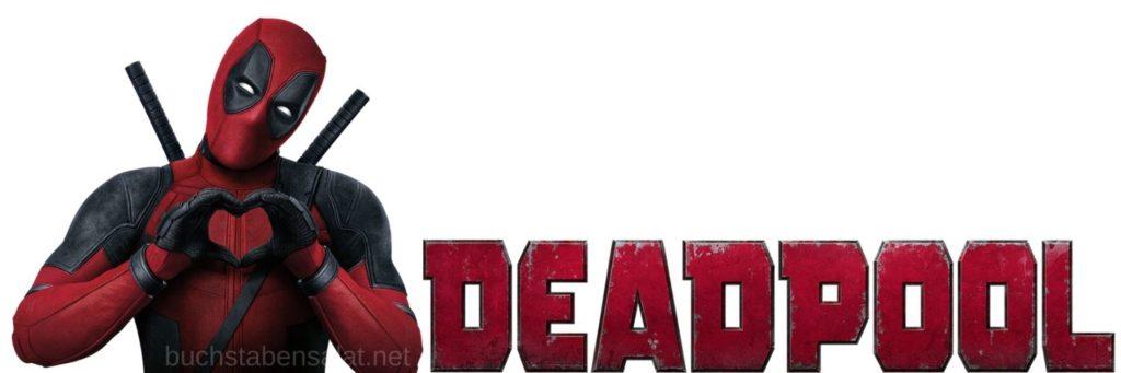 Serien und Filme. Filmbanner. Deadpool. Ryan Reynolds.