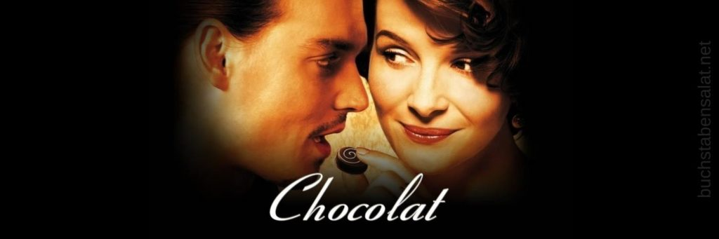 Serien und Filme. Filmbanner. Chocolat. Johnny Depp.
