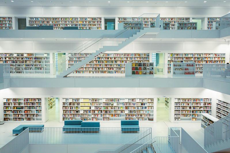 Rezensionen auf Buchstabensalat.net Bild: Stadtbibliothek Stuttgart