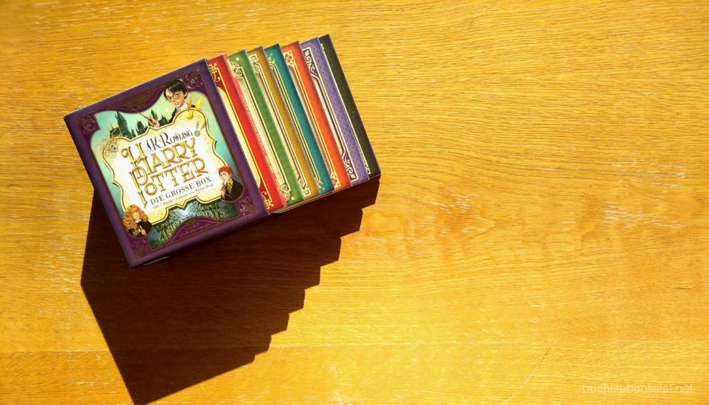 Top 5 Bücher Herbst 2020 Nummer 3 Harry Potter Hörbücher gelesen von Rufus Beck neue Auflage CD-Box
