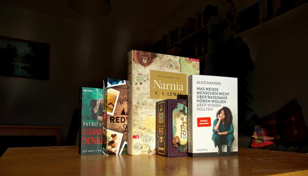 Top 5 Bücher Herbst 2020 Nummer 1 bis 5 zusammen, hochkant stehend, Cover