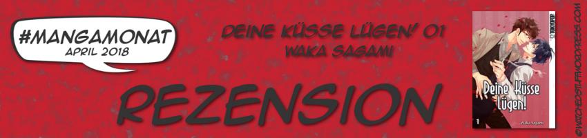 Rezensionsbild Deine Küsse Lügen Bd. 1