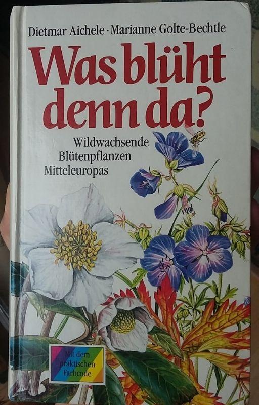 Was blüht denn da? Coverfotografie. Ausgabe 54. von 1991. #Pflanzenwoche