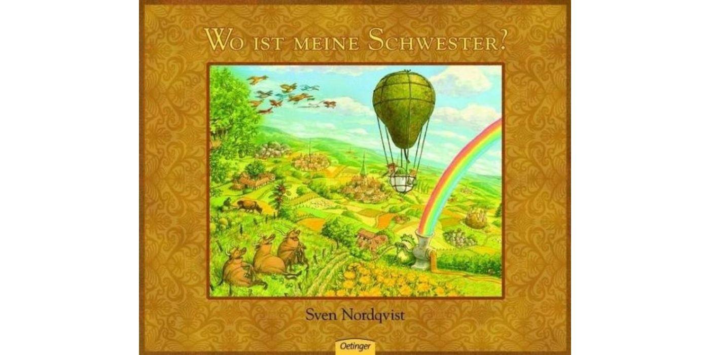 """Abgebildet ist das Cover von dem Buch """"Wo ist meine Schwester?"""" von Sven Nordquist"""
